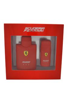 Ferrari Red by Ferrari for Men - 2 Pc Gift Set 4.2oz EDT Spray, 1oz EDT Spray