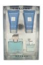 Chrome by Loris Azzaro for Men - 4 Pc Gift Set 1.7oz EDT Spray, 1.7oz After Shave Balm, 1.7oz All Over Shampoo, 0.23oz EDT Deluxe Splash