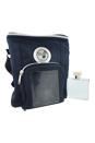 Chrome by Loris Azzaro for Men - 2 Pc Gift Set 3.4oz EDT Spray, Audio Cooler Bag - Blue