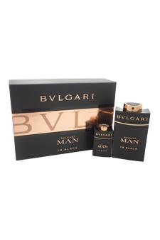 Bvlgari Man In Black  men 3.4oz EDP Spray Gift Set