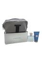 Chrome by Loris Azzaro for Men - 3 Pc Gift Set 1oz EDT Spray, 1.7oz All Over Shampoo, Toiletry Bag