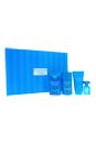 Perry Ellis Aqua by Perry Ellis for Men - 4 Pc Gift Set 3.4oz EDT Spray, 2.75oz Deodorant Stick, 1.7oz Shower Gel, 0.25oz EDT Spray