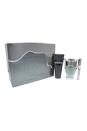 Invictus by Paco Rabanne for Men - 3 Pc Gift Set 3.4oz EDT Spray, 0.34oz EDT Spray, 3.4oz All Over Shampoo