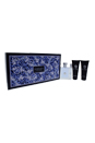 Versace Pour Homme by Versace for Men - 4 Pc Gift Set 3.4oz EDT Spray, 0.3oz EDT Spray, 3.4oz Hair & Body Shampoo, 3.4oz After Shave Balm