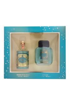 4711 by Muelhens for Unisex - 2 Pc Gift Set 3.4oz EDC Splash, 3.4oz After Shave
