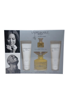 Unbreakable Bond by Khloe And Lamar for Unisex - 4 Pc Gift Set 3.4oz EDT Spray, 3.4oz Body Lotion, 3.4oz Shower Gel, 0.25oz EDT Splash