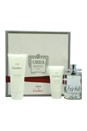 Eau De Cartier by Cartier for Unisex - 3 Pc Gift Set 3.3oz EDT Spray, 1.6oz Moisturizing Body Lotion, 3.3oz All Over Shampoo