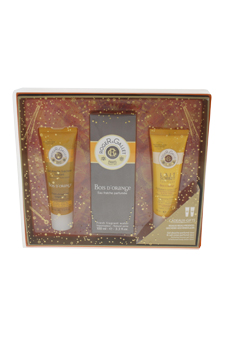 Bois D'Orange by Roger & Gallet for Unisex - 3 Pc Gift Set 3.3oz Fresh Fragrant Water Spray, 1.6oz Shower Gel, 1.6oz Body Lotion