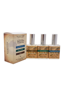 Destination Set by Demeter for Unisex - 3 Pc Gift Set 1oz Great Barrier Reef Cologne Spray, 1oz New Zealand Cologne Spray, 1oz Cuba Cologne Spray (Limited Edition)