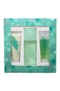 Green Tea by Elizabeth Arden for Women - 3 pc Gift Set 3.3 oz Scent Spray, 3.4 oz Refreshing Body Lotion, 3.3 oz Refreshing Bath & Shower Gel