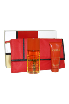 Opium by Yves Saint Laurent for Women - 3 Pc Gift Set 1.6oz EDT Spray, 2.5oz Body Moisturizer, 2.5oz Luscious Shower Gel