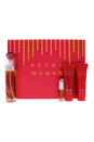 Perry by Perry Ellis for Women - 4 Pc Gift Set 3.4oz edp spray, 3oz bath&shower gel, 3oz body lotion, 7.5ml EDP Spray