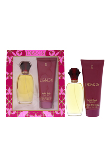 Design by Paul Sebastian for Women - 2 Pc Gift Set 3.4oz Fine Parfum Spray, 6.8oz Luxury Body Lotion