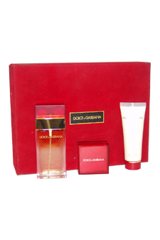Dolce & Gabbana by Dolce & Gabbana for Women - 3 Pc Gift Set 1.7oz EDT Spray, 8.4oz Sensual Softness Body Milk, 4.5ml EDT Splash $ 76.29