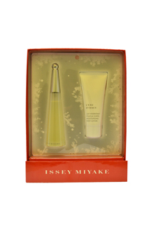 EZ L'eau D'issey by Issey Miyake for Women - 2 Pc Gift Set 1.6oz EDT Spray, 3.3oz Moisturizing Body Lotion