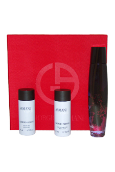Armani Code by Giorgio Armani for Women - 3 Pc Gift Set 2.5oz EDP Spray, 1.7oz Body Lotion, 1.7oz Shower Gel