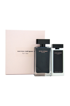 Narciso Rodriguez by Narciso Rodriguez for Women - 2 Pc Gift Set 3.3oz EDT Spray, 3.3oz Body Lotion