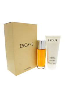 Calvin Klein Escape women 3.4oz EDP Spray Body Lotion Gift Set