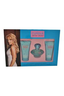 Britney Spears Curious women 1oz EDP Spray Shower Gel Gift Set