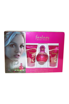 Britney Spears Fantasy women 1.7oz EDP Spray Shower Gel Gift Set