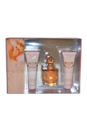 Fancy by Jessica Simpson for Women - 3 Pc Gift Set 3.4oz EDP Spray, 3oz Body Lotion, 3oz Bath & Shower Gel