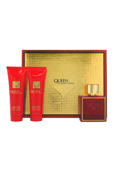Queen by Queen Latifah for Women - 3 Pc Gift Set 3.4oz EDP Spray, 3oz Body Lotion, 3oz Body Butter