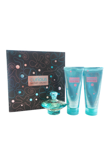 Curious by Britney Spears for Women - 3 Pc Gift Set 3.3oz EDP Spray, 6.8oz Whipped Body Souffle, 6.8oz Shower Gel