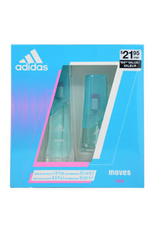 Adidas Moves women 1oz EDT Spray Gift Set