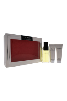 Sung by Alfred Sung for Women - 3 Pc Gift Set 3.4oz EDT Spray, 2.5oz Essential Body Lotion, 2.5oz Refreshing Shower Gel