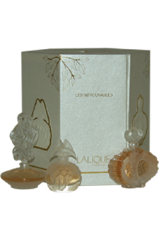 The Ultimate Collection by Lalique for Women - 3 Pc Mini Gift Set 5ml Lalique Mini Parfum Splash (2003 Edition), 5ml Lalique Mini Parfum Splash (2004 Edition), 5ml Lalique Mini Parfum Splash (2005 Edition)