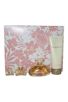 Tommy Bahama by Tommy Bahama for Women - 4 Pc Gift Set 3.4oz EDP Spray, 6.7oz Perfumes Body Lotion, 0.5oz EDP Spray, 5.3ml EDP Splash