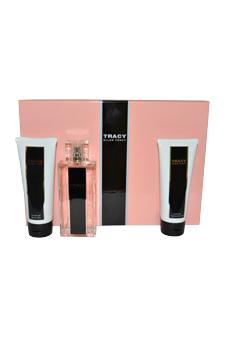 Tracy by Ellen Tracy for Women - 3 Pc Gift Set 2.5oz EDP Spray, 3.4oz Body Lotion, 3.4oz Shower Gel