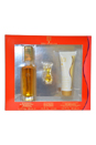 Red by Giorgio Beverly Hills for Women - 3 Pc Gift Set 1.7oz EDT Spray, 1.6oz Perfumed Body Moisturizer, 3.5ml EDT Mini Splash