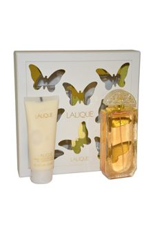 Lalique by Lalique for Women - 2 Pc Gift Set 3.3oz EDP Spray, 3.3oz Perfume Body Lotion