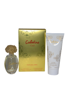 Cabotine Gold by Gres for Women - 2 Pc Gift Set 3.4oz EDT Spray, 6.76oz Perfumed Body Lotion