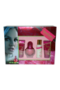Fantasy by Britney Spears for Women - 4 Pc Gift Set 1.7oz EDP Spray, 1.7oz Shower Gel, 1.7oz Bubble Bath, 1.7oz Body Souffle