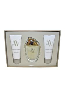 AV by Adrienne Vittadini for Women - 3 Pc Gift Set 3oz EDP Spray, 3.3oz Body Lotion, 3.3oz Shower Gel