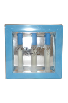 Light Blue by Dolce & Gabbana for Women - 3 Pc Mini Gift Set 3 x 7.4 ml EDT Spray