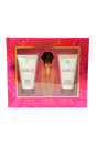 Design by Paul Sebastian for Women - 3 Pc Gift Set 1oz Fine Parfum Spray, 1.7oz Luxury Body Lotion, 1.7oz Luxury Bath Gel
