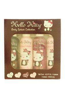 Hello Kitty Body Splash Collection by Hello Kitty for Women - 4 Pc Gift Set 4.22oz Tender Spray, 4.22oz Joy Spray, 4.22oz Friendship Spray, 4.22oz Love Spray $ 24.99
