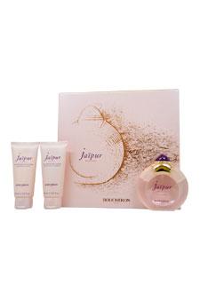 Boucheron Jaipur Bracelet women 3.3oz EDP Spray Body Lotion Shower Gel Gift Set