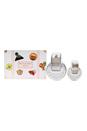 Bvlgari Omnia Crystalline by Bvlgari for Women - 2 Pc Gift Set 2.2oz EDT Spray, 0.5oz EDT Spray