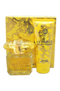 Versace Yellow Diamond by Versace for Women - 2 Pc Gift Set 3oz EDT Spray, 3.4oz Perfumed Body Lotion