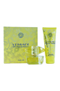 Versace Yellow Diamond by Versace for Women - 2 Pc Gift Set 1.7oz EDT Spray, 3.4oz Body Lotion