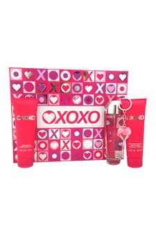 XoXo by XOXO for Women - 4 Pc Gift Set 3.4oz EDP Spray, 3.4o