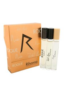 Rihanna Fragrance Collection by Rihanna for Women - 3 Pc Min