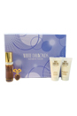 White Diamonds by Elizabeth Taylor for Women - 4 Pc Gift Set 1oz EDT Spray, 0.12oz Parfum Splash Mini, 1.7oz Perfumed Body Lotion, 1.7oz Gentle Moisturizing Body Wash