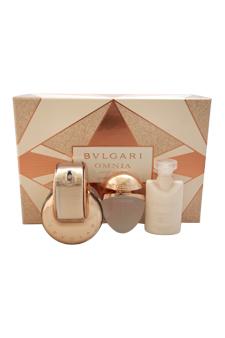 Bvlgari Omnia Crystalline L'EDP women 2.2oz Spray Body Lotion Gift Set
