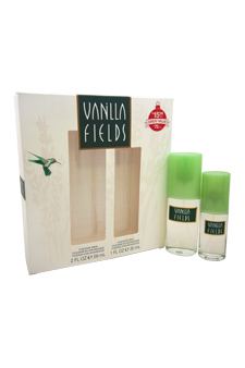Vanilla Fields by Coty for Women - 2 Pc Gift Set 2oz Cologne Spray, 1oz Cologne Spray