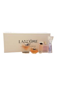 La Collections De Parfums by Lancome for Women - 5 Pc Mini Gift Set 0.16oz Hypnose EDP Splash, 0.13oz La Vie Est Belle EDP Splash, 0.25oz Tresor EDP Splash, 0.16oz Tresor In Love EDP Splash, 0.16oz Miracle EDP Splash